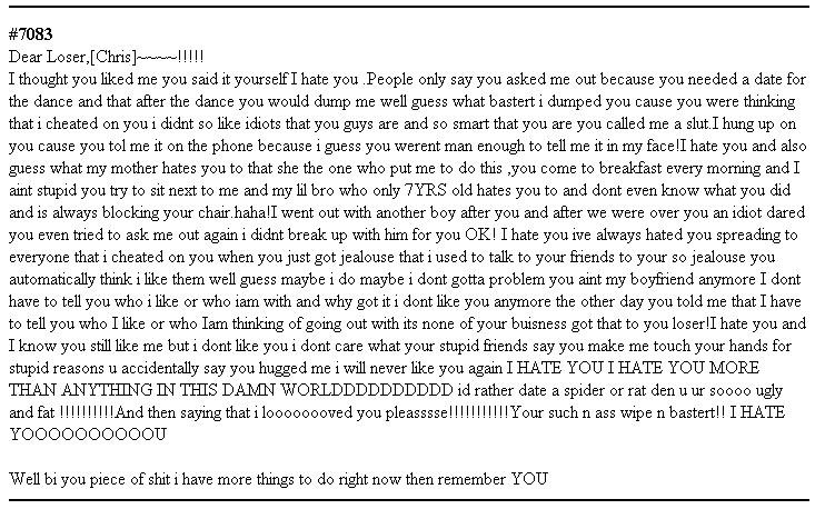 Dear Chris